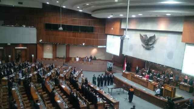Sah! Setya Novanto Cs Jadi Pimpinan DPR