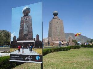 Monumen Ini Jadi Penanda Titik Tengah Bumi