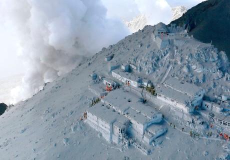 16 Orang Masih Hilang Akibat Letusan Gunung Ontake di Jepang