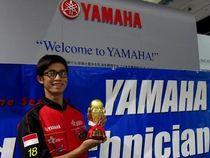 Teknisi Yamaha Ukir Prestasi di Kejuaraan Dunia