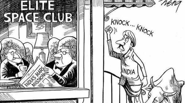 Muat Karikatur Misi ke Mars Termurah India, New York Times Minta Maaf