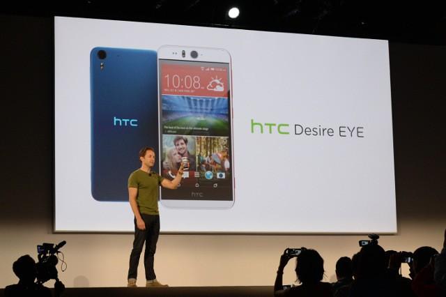 Menjajal Smartphone Raja Selfie HTC Desire Eye