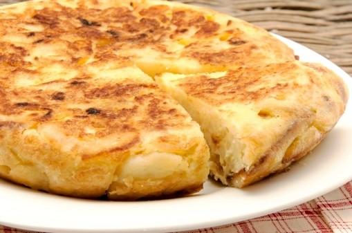 Punya Kentang Dan Telur Bikin Omelet Spanyol Saja