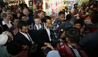 Saat Jokowi dan Mark Zuckerberg Berkeringat di Tanah Abang