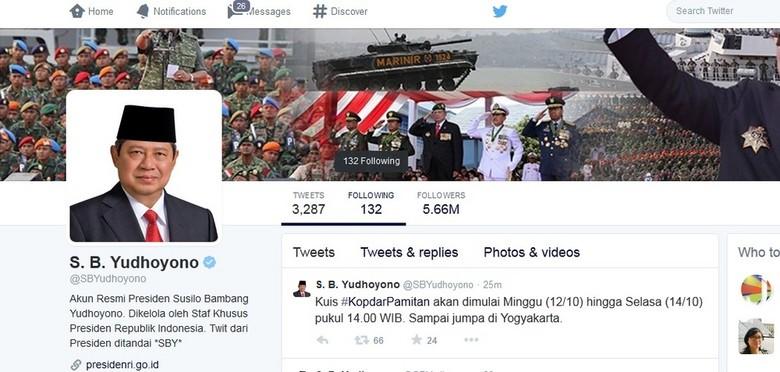 20 Netizen Terpilih Mengikuti Kopdar Pamitan Presiden SBY