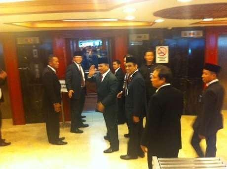Masuk Ruang Pelantikan Jokowi, Prabowo Dapat Standing Applause