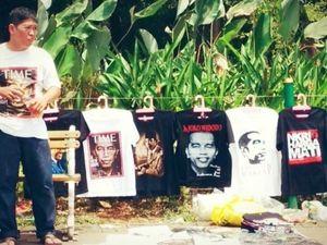 Selain Kaos, Gantungan Kunci Jokowi Jadi Ladang Cari Uang