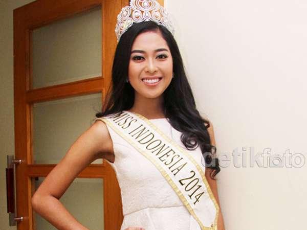 Senyum Manis Maria Rahajeng, Miss Indonesia 2014