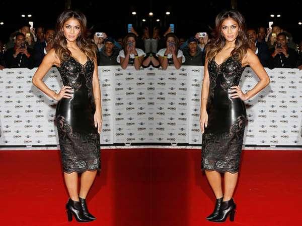 Dress Kulit Ketat Nicole Scherzinger