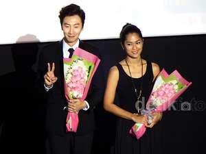 Lee Kwang Soo di Pembukaan Korea-Indonesia Film Festival 2014