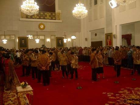 Wamenlu AM Fachir dan Wamenkeu Mardiasmo Juga Dilantik Presiden Jokowi