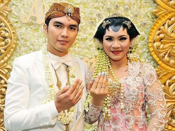 Foto-foto Pernikahan Aldi Taher dan Georgia Aisyah Putri