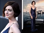 Wajah Sumringah Anne Hathaway