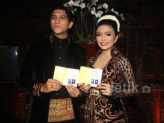 Tantri Kotak dan Arda Naff Akhirnya Resmi Menikah