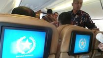 Melihat Lebih Dekat Pesawat Kepresidenan yang Dinaiki Jokowi