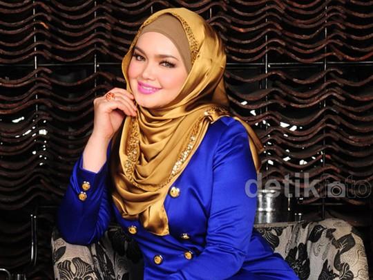 Cantiknya Siti Nurhaliza Tampil Elegan