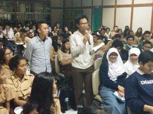 Ngopi Goes to School Berlanjut ke SMAN 34 Jakarta