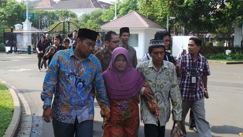 Orangtua M Arsyad Temui Presiden Jokowi di Istana