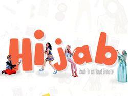 Unsur Fashion dan Komedi Ada di Poster Film Hijab