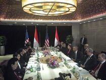 Mendarat di Beijing, Obama Langsung Temui Jokowi