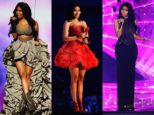 Sexy... Ini 8 Busana Nicki Minaj di EMA 2014