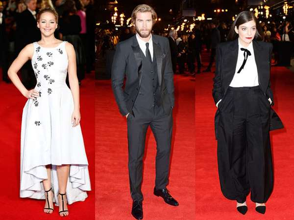 Suasana Red Carpet Premiere 'The Hunger Games' di London