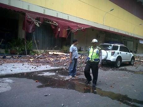 Ini Penampakan Kerusakan Hotel di Manado Akibat Gempa 7,3 SR