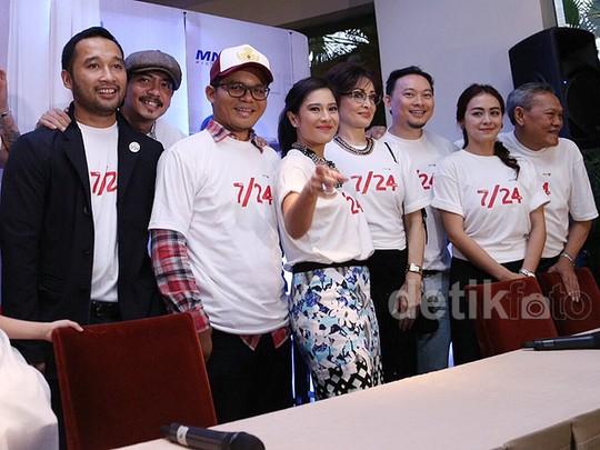 Suasana Jumpa Pers Film '7/24'