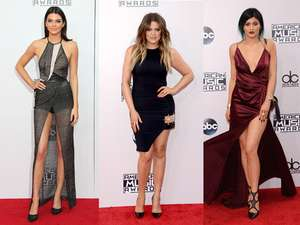 Keluarga Kardashian Stylish di Red Carpet