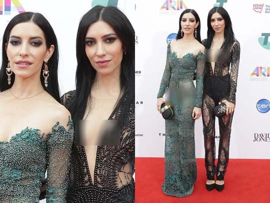 Penyanyi Duo Australia ini Eksis Tanpa Bra di ARIA Awards 2014