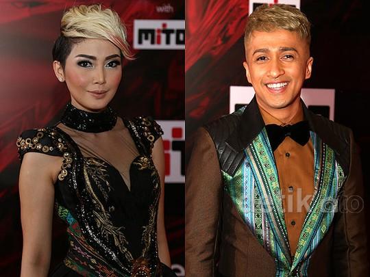 Rambut Serupa tapi Tak Sama Fenita Arie dan Irfan Hakim