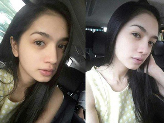 Angel Karamoy Pamer Wajah Tanpa Make-Up, Cantik?