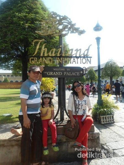 Grand Palace, Keraton Yogya Ala Thailand