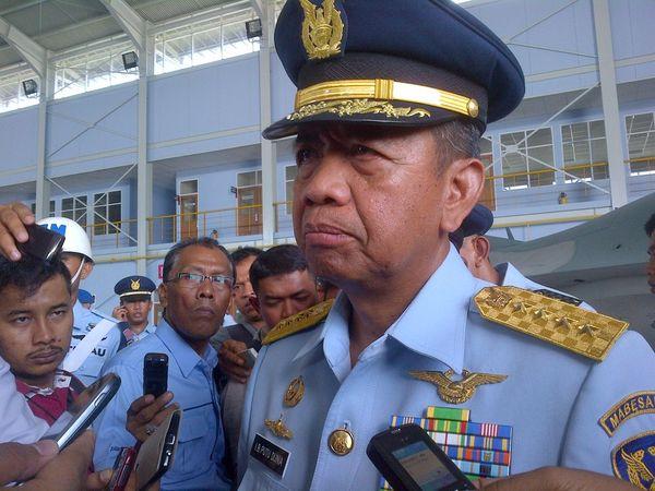 KSAU Resmikan Pengoperasian Skadron Udara F-16 di Pekanbaru