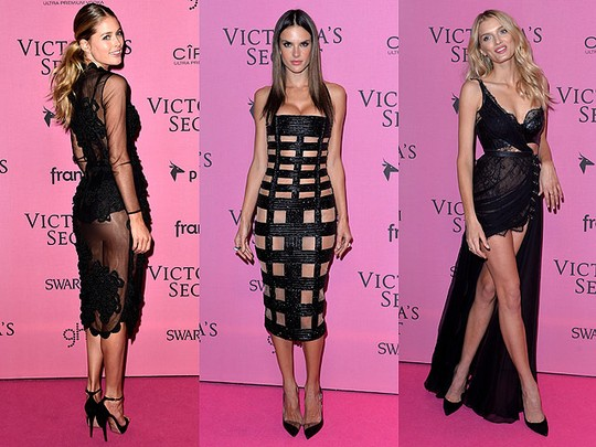 Parade Busana Menerawang di Fashion Show Victoria's Secret