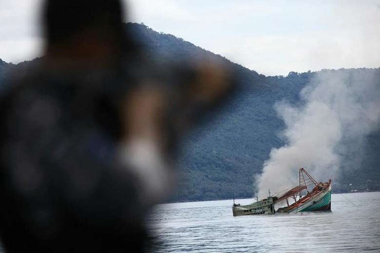 Panglima Armabar: 3 Kapal Vietnam yang Diledakkan Berdokumen Bodong