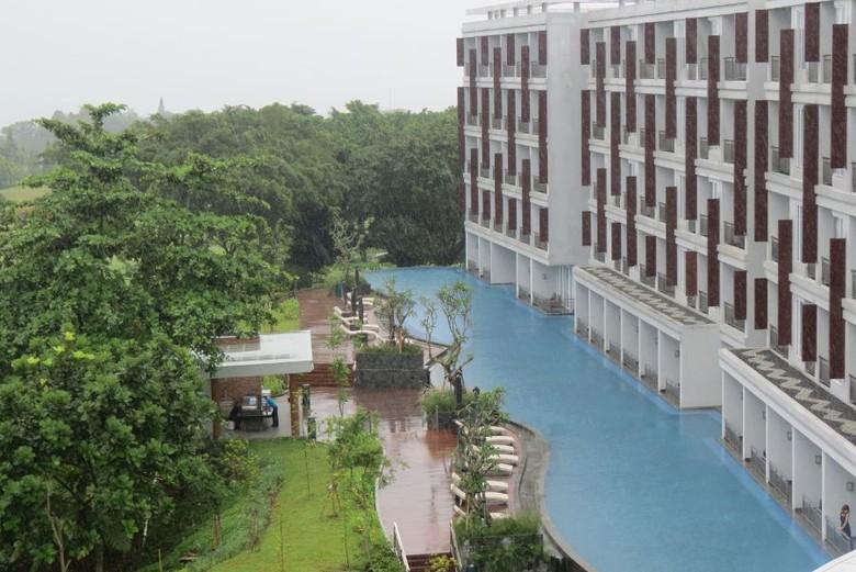 Lagoon Pool di R Hotel Rancamaya (Fitraya/detikTravel)