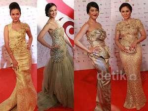 Gorgeous... Keanggunan Para Aktris di FFI 2014
