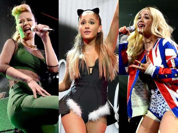 Sederet Musisi Ramaikan Jingle Ball 2014