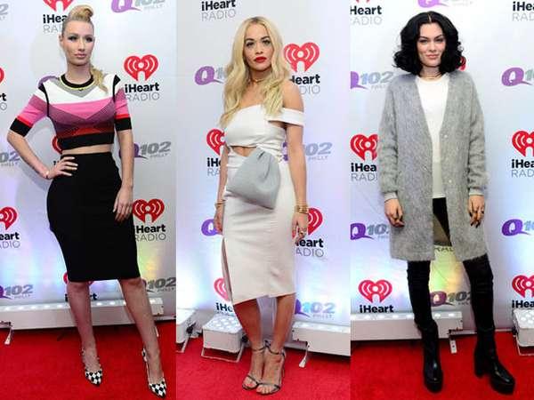 Iggy Azalea, Rita Ora dan Jessie J di Red Carpet, Siapa Paling Stylish?