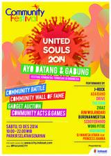 Indosat Dukung Community Festival 2014 United Souls