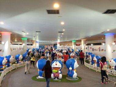 Hebohnya Melihat Doraemon Si Pemilik Baling-baling Bambu di Ancol
