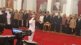 Jokowi Lantik Laksamana Madya Ade Supandi Menjadi KSAL