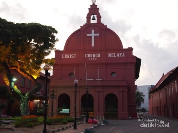 Bangunan Merah di Melaka