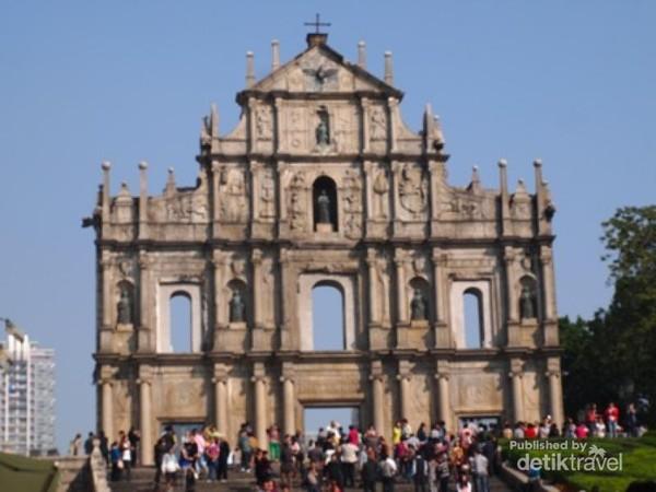 Ruinas da Sao Paulo di Macau