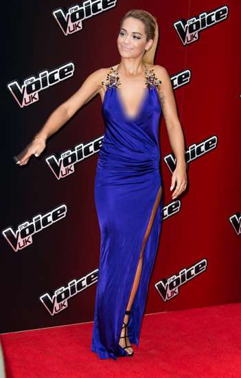 Sexy in Blue, Rita Ora