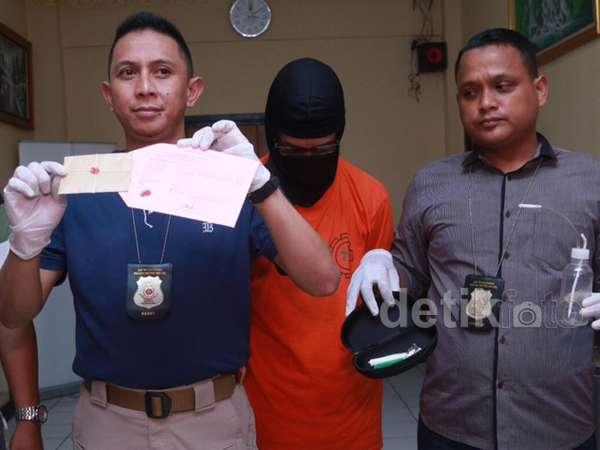 Penampakan Fariz RM Pasca Ditangkap Polisi