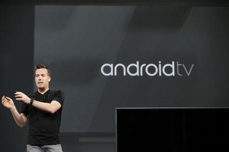 Peluncuran Google TV di Google I/O 2010 (gettyimages)