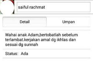 Ini Sosok Saiful Teknisi AirAsia dan Status BBM-nya yang Menyentuh