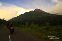 Merapi dari kawasan Selo